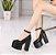 Sapato de Couro Plataforma BLACKFIT - Imagem 2