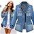 Jaqueta Jeans VINTAGE LOOK - Imagem 1