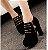 Sapato Plataforma de Camurça ZIPPED em Duas Cores - Imagem 4
