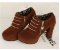 Sapato Plataforma de Camurça ZIPPED em Duas Cores - Imagem 7