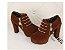 Sapato Plataforma de Camurça ZIPPED em Duas Cores - Imagem 10