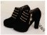 Sapato Plataforma de Camurça ZIPPED em Duas Cores - Imagem 8
