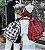 Mochila de Nylon LIVING & TRAVELING XADREZ - Várias Cores - Imagem 3
