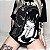 Camiseta Baby Look Longline DARK GIRL - Imagem 1