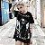 Camiseta Gótica Longline ALL CATS ARE BLACK - Imagem 1