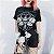 Camiseta  Gótica BLACK HOPE CURSE - Imagem 1