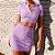 Conjunto Cropped + Minissaia FASHION GIRL - Várias Cores - Imagem 5