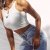 Blusinha Cropped de Alça COLOR BUTTERFLIES - Duas Cores - Imagem 10