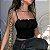 Blusinha cropped de Alcinha LOOSE-UP - Duas Cores - Imagem 5