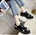 Sapato de Couro DAISIES - Fosco & Envernizado - Imagem 9