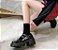 Sapato Tratorado de Couro FIVELA DUPLA - Fosco & Envernizado - Imagem 6