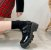 Sapato Tratorado de Couro FIVELA DUPLA - Fosco & Envernizado - Imagem 1