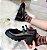Sapato Tratorado de Couro FIVELA DUPLA - Fosco & Envernizado - Imagem 2