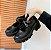 Sapato Tratorado de Couro FIVELA DUPLA - Fosco & Envernizado - Imagem 9