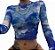 """Blusa Cropped """"Segunda Pele"""" BLUESKY - Imagem 6"""