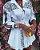 Vestido de Manga Longa WHITE FASHION - Três Estampas - Imagem 6