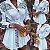 Vestido de Manga Longa WHITE FASHION - Três Estampas - Imagem 1
