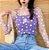 Blusa Transparente de Seda MARGARIDAS - Várias Cores - Imagem 8