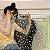Blusa Transparente de Seda MARGARIDAS - Várias Cores - Imagem 5