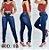 Coleção de Calça Jeans Cós Alto - Várias Cores - Imagem 2