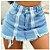 Minissaia Bloqueira de Jeans DUAL ZIPER - Imagem 1