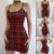 Vestido de Alcinha Tight Xadrez - Imagem 1