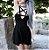 Vestido Gótico de Alcinha DECOTE PENTAGRAMA - Imagem 7