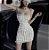 Vestido Tubinho de Alcinha BORBOLETA LUMINESCENTE - Duas Cores - Imagem 6