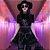 Vestido de Alça Gótico BLACK ROSES - Imagem 3