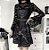 Vestido de Alça Gótico BLACK ROSES - Imagem 2