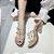 Sandália Santo Quadrado Transparente SPIKED - Várias Cores - Imagem 1