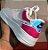 Tênis AIR FORCE Holográfico - Branco & Pink - Imagem 2
