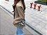Bolsa Crossbody MARGARIDAS com Corrente Transparente - Imagem 8