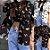 Camisa BORBOLETAS COLORIDAS - Duas Cores - Imagem 1