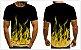 Camiseta EM CHAMAS - Três Cores - Imagem 1