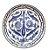 Prato Decorado em cerâmica Espanhol de Talavera  33cm - Imagem 1