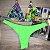 Cortininha móvel Paraíso + calcinha fio normal Verde Neon - Imagem 1