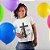 Camisa Infantil Branca Cordeiro e Leão - Imagem 1