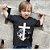 Camisa Infantil Preta Cordeiro e Leão - Imagem 1