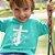 Camisa Infantil Turquesa Cordeiro e Leão - Imagem 1