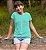 Camisa Infantil Turquesa Fé - Imagem 1