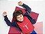 Camisa Infantil Vermelha Jesus - Imagem 1