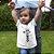 Camiseta Infantil Branca King Of Kings - Imagem 1
