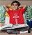 Camiseta Infantil Vermelha King Of Kings - Imagem 2