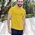 Camiseta Amarela Jesus - Peito - Imagem 1