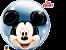 Balão Bubble Disney Shaped Mickey Mouse - Imagem 1