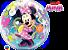 Balão Bubble Disney Minnie Mouse Bowtique - Imagem 2