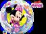 Balão Bubble Disney Minnie Mouse Bowtique - Imagem 1