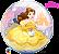 Balão Bubble Disney Bela - Imagem 1
