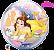 Balão Bubble Disney Bela - Imagem 2